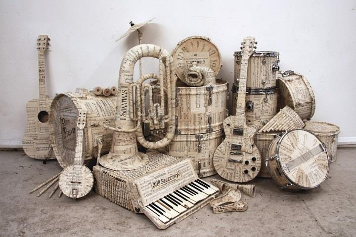 Kyle Bean - musical instruments