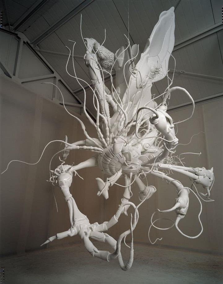 Lee Bul - cyborg monster