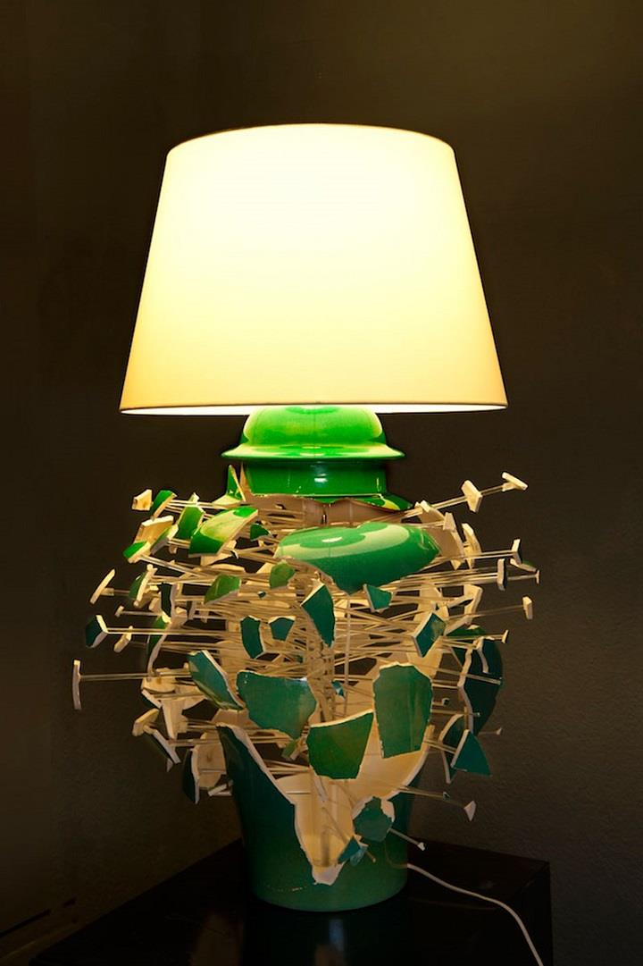 Los Carpinteros - design table lamp