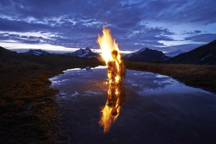 Environmental Sculptures by Martin Hill
