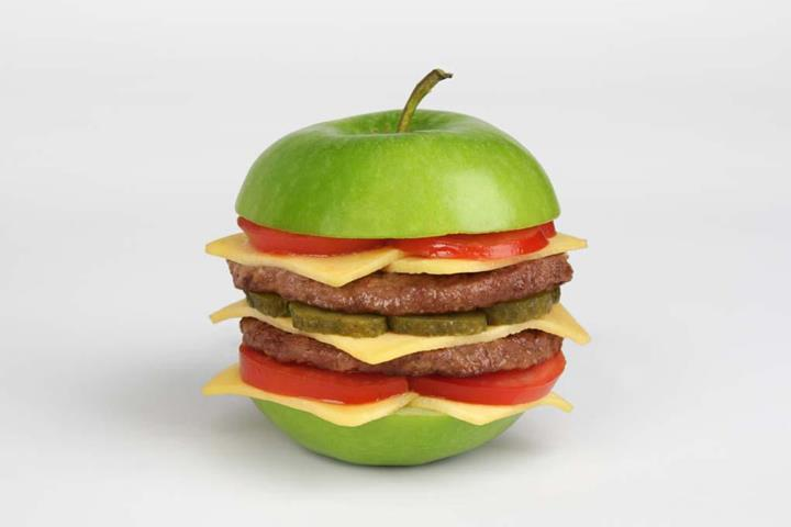 Martin Roller - apple burger