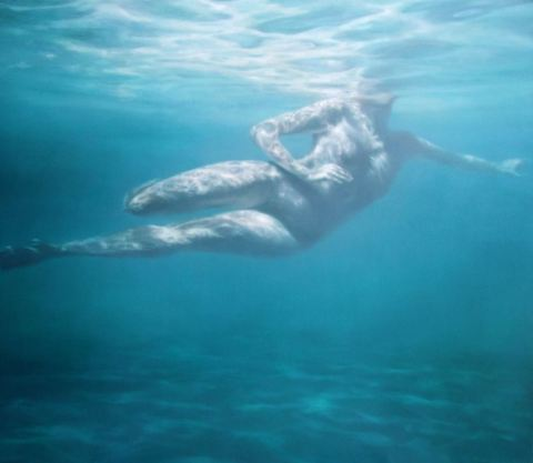 Martine Emdur Underwater Painting 4