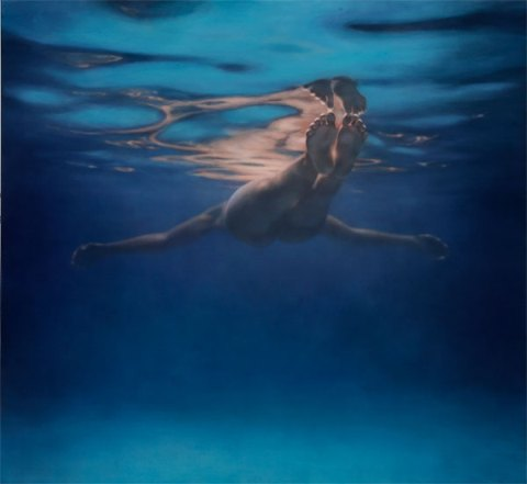 Martine Emdur Underwater Painting 6
