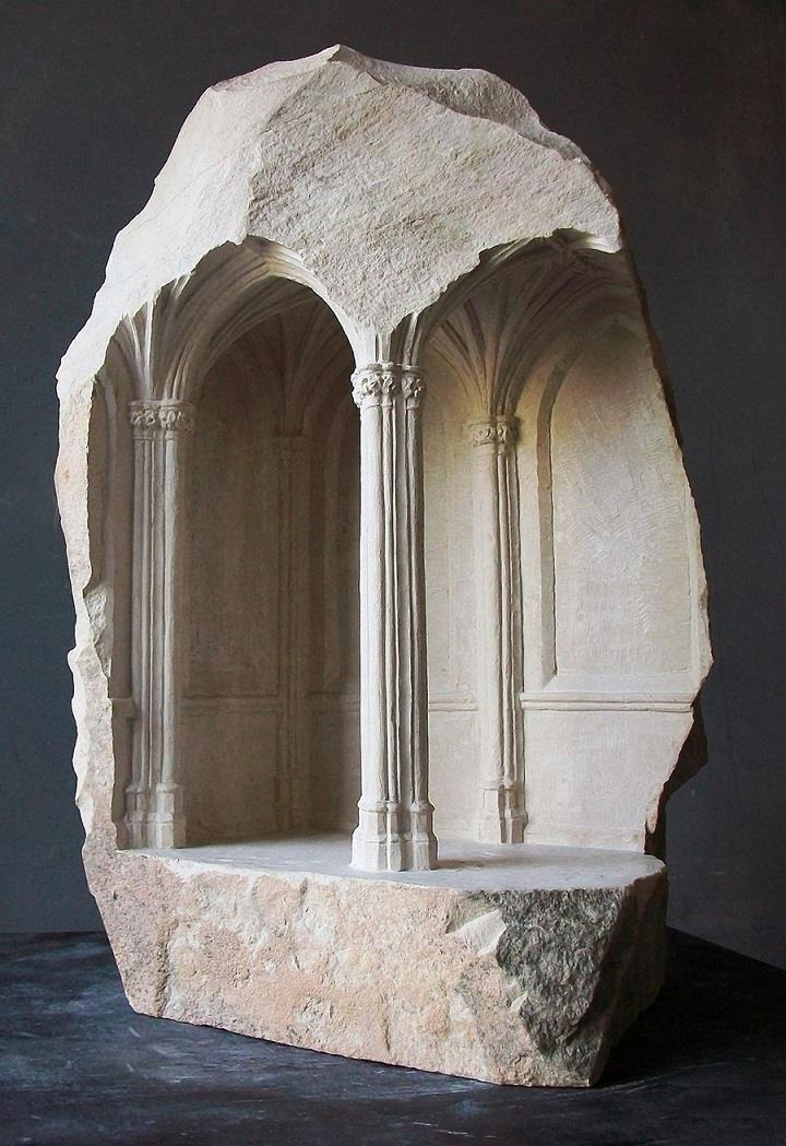 Matthew Simmonds - carved stone and marble