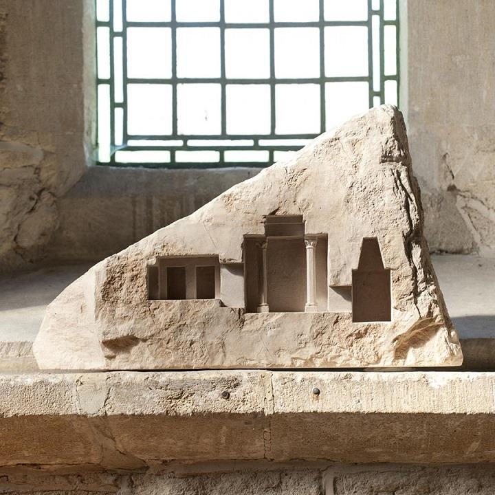 Matthew Simmonds - stone miniature architecture
