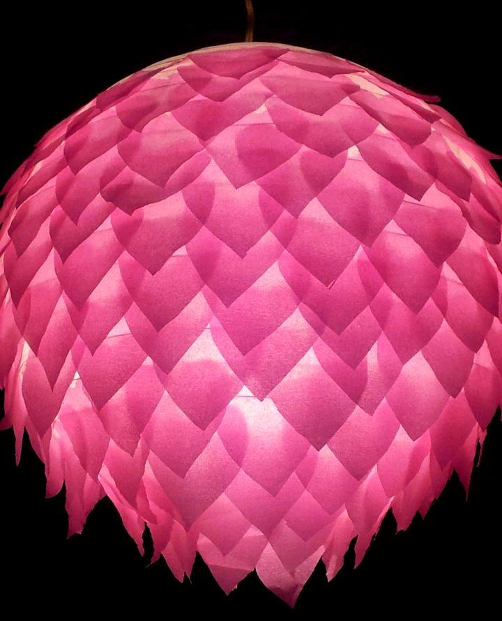 Melanie Brophy - pink light shade