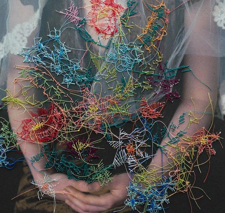 Melissa Zexter - embroidery hands