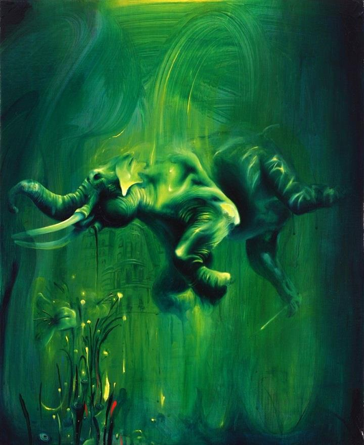 Michael Page - elephant