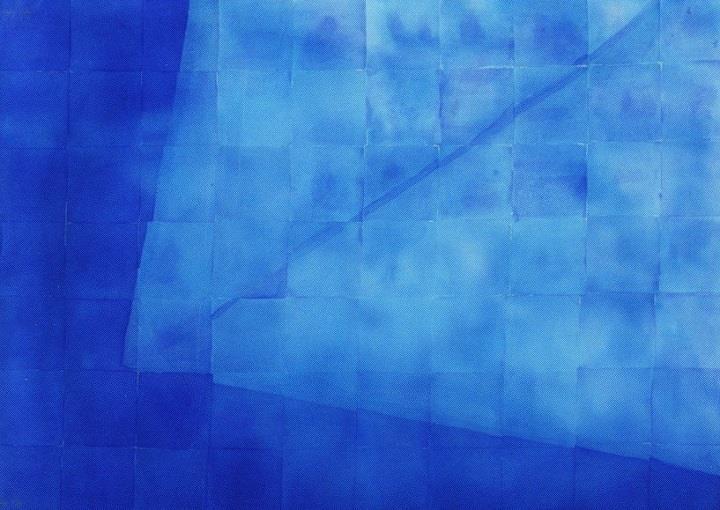 Mika Barr - blue textile