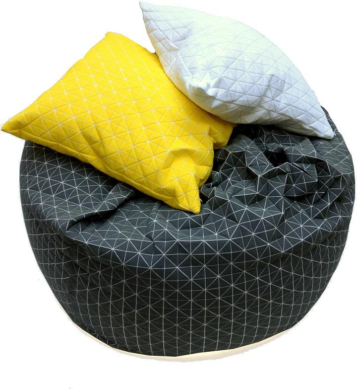 Mika Barr - chair and pillows