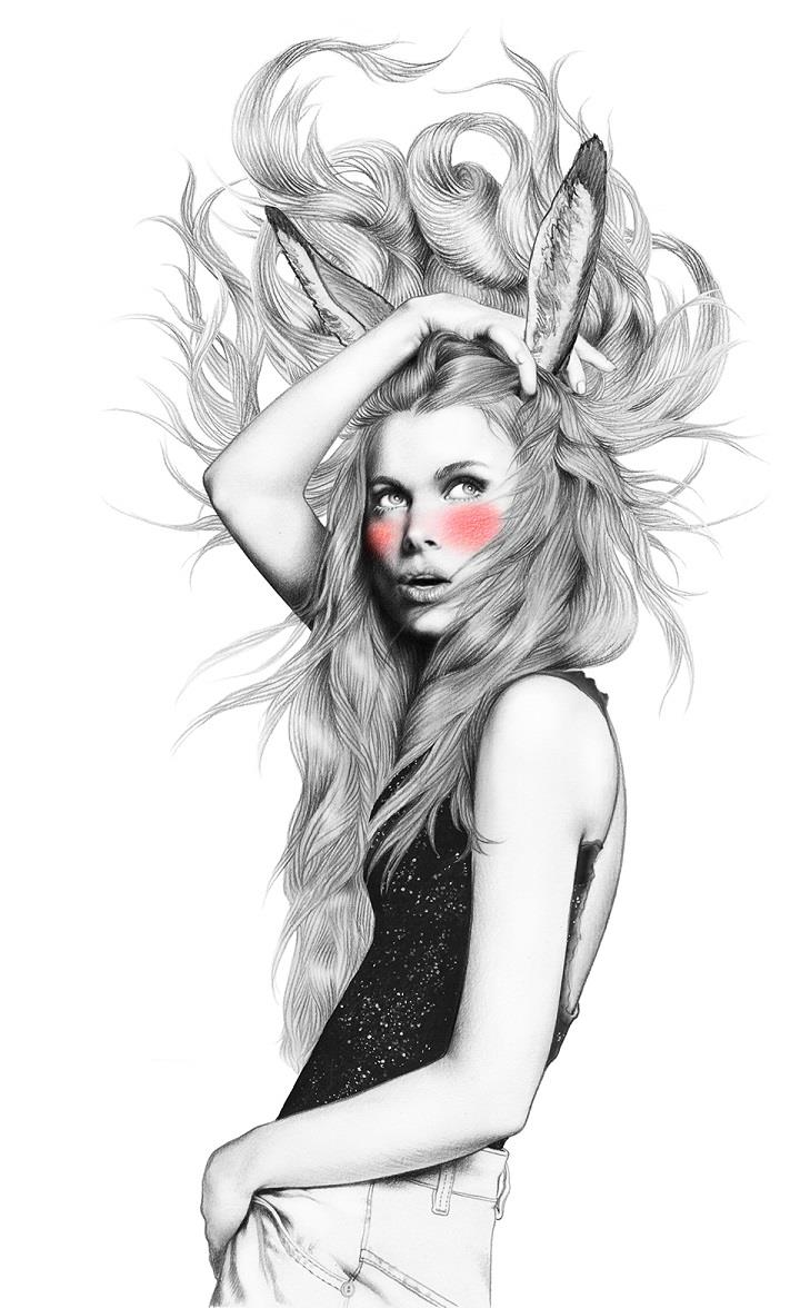 Minni Havas - beauty illustration