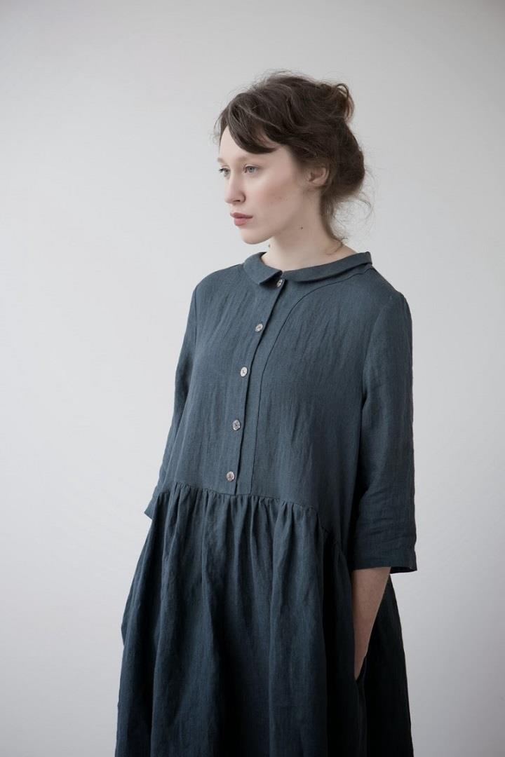 Muku - blue dress SS14