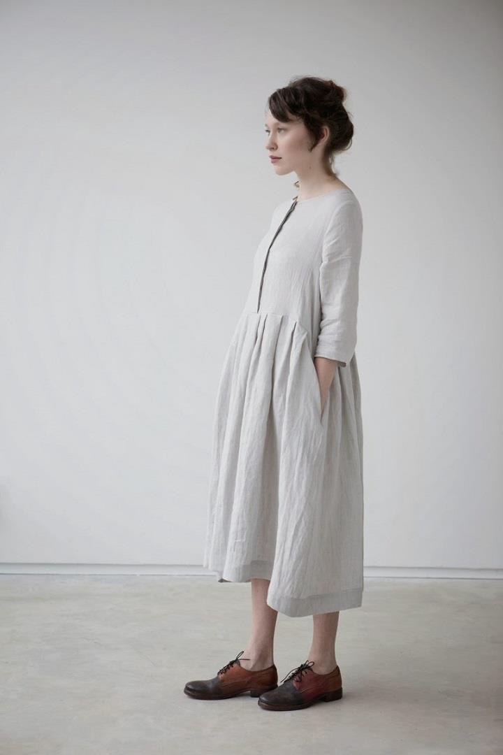 Muku - white dress SS14