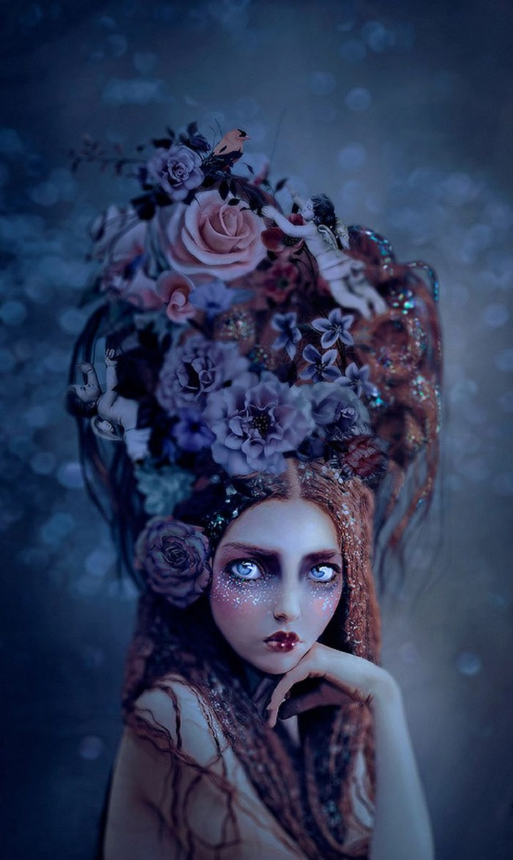 Natalie Shau - eyes