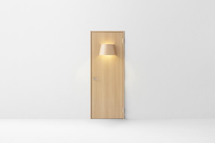 Nendo - lamp door