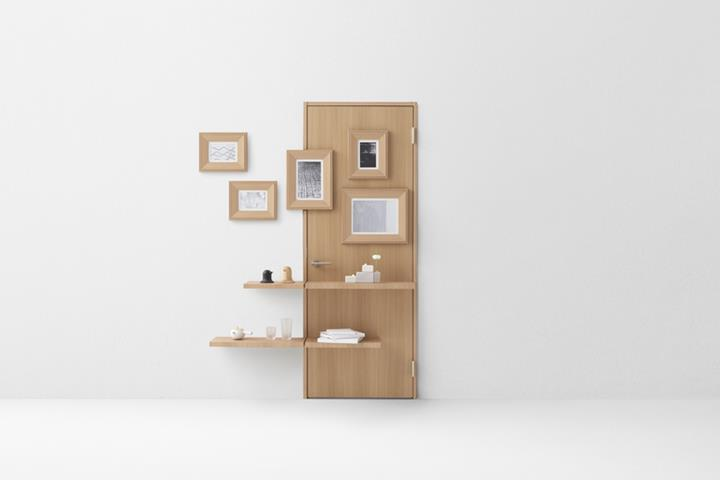 Nendo - wall door