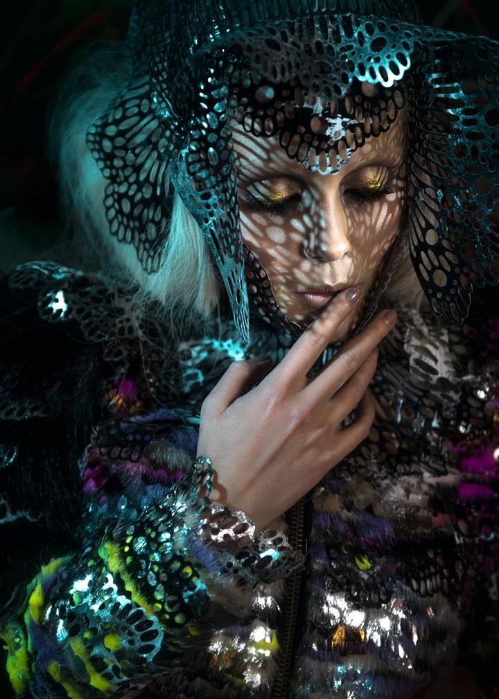Nikoline Liv Andersen - makeup fashion