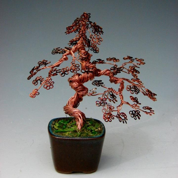 Omer Huremovic - wire bonsai tree