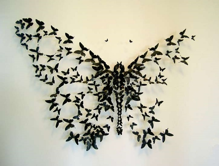 Paul Villinski - beer can butterflies