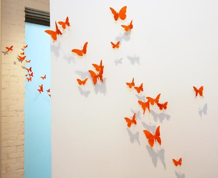 Paul Villinski - orange butterflies