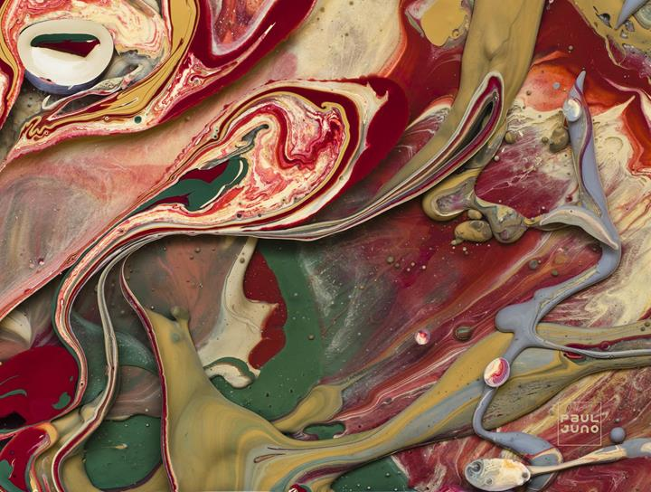 Paul Juno - Agate Painting3
