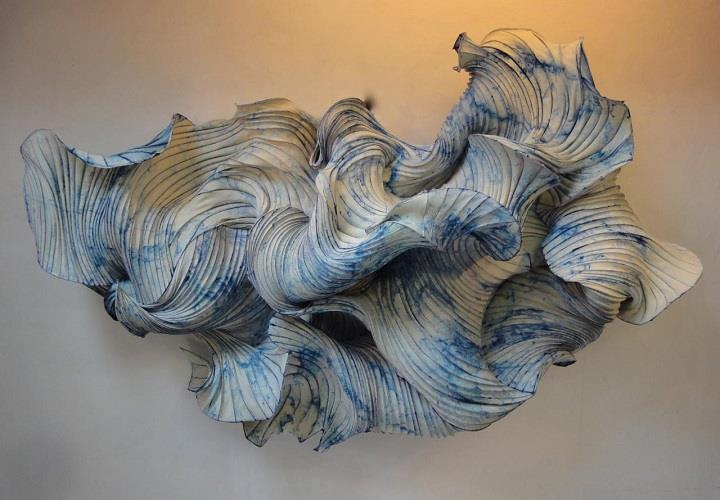 Peter Gentenaar - Floating Paper Sculptures