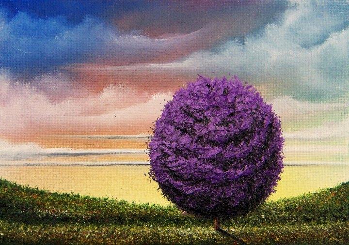 Rachel Bingaman - violet tree