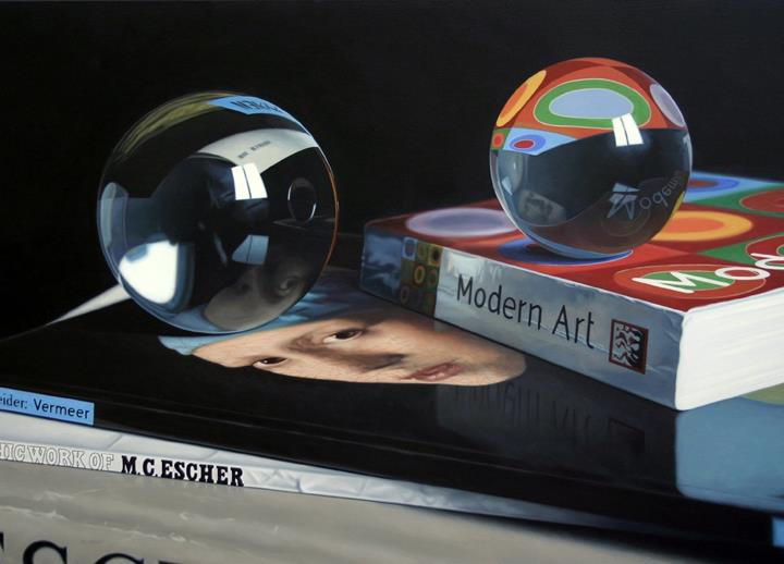 Reflections of Modern Art Jason de Graaf