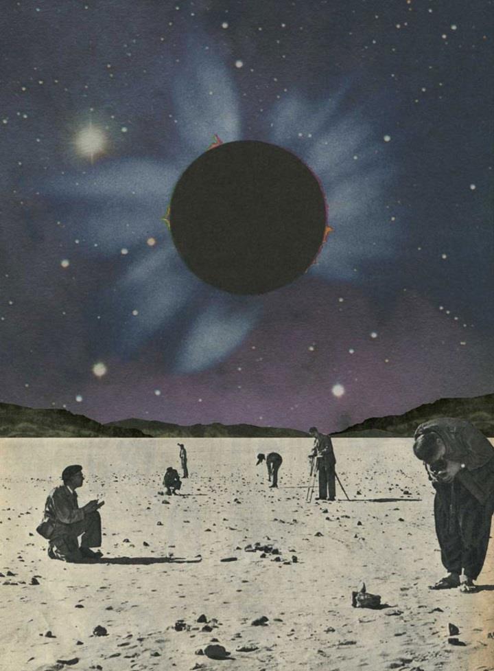 Sammy Slabbinck - collage art