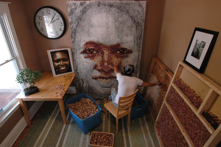 Scott Gundersen -  Wine Cork Portraits