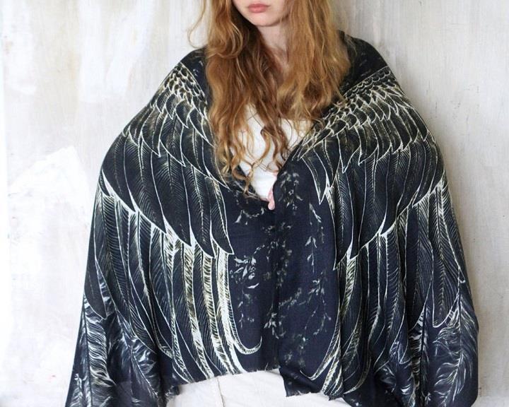 Shovava - Roza Khamitova - black wings