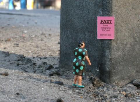 Slinkachu - fat