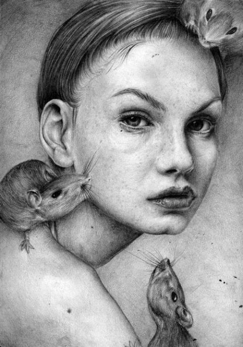 T.S Abe's Pencil Drawings
