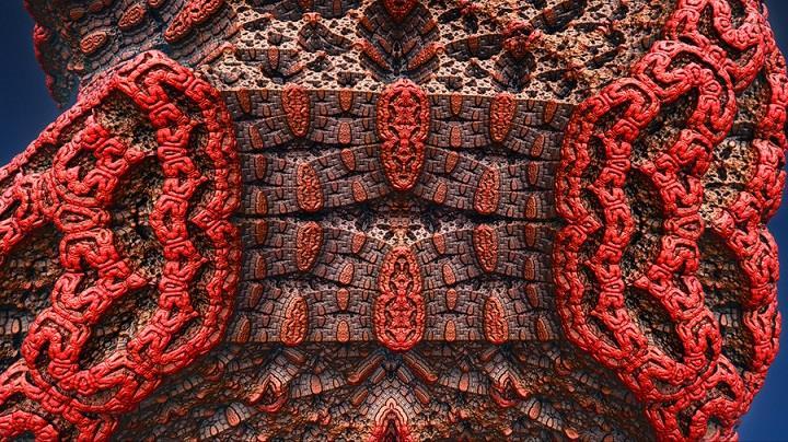 Tom Beddard - colorful fractal