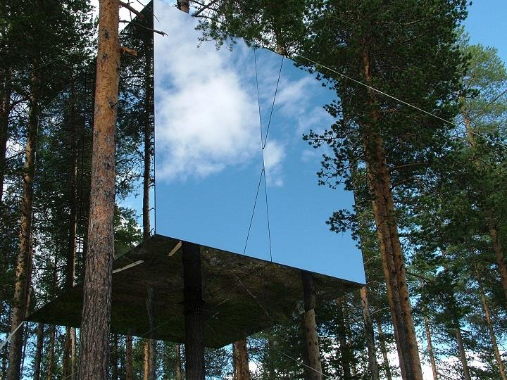 Treehotel of Sweden: Sleep in Nature
