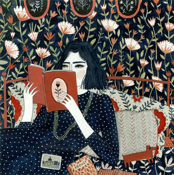Yelena Bryksenkova - reading illustration