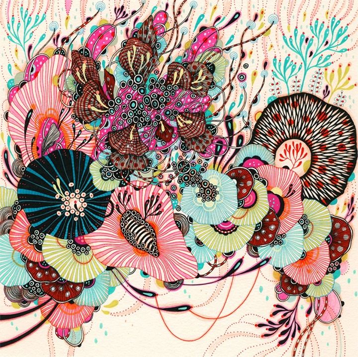 Yellena James - colourful